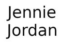 Jennie Jordan